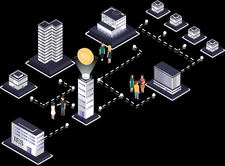 Persone, enti pubblici, imprese e associazioni insieme in un network